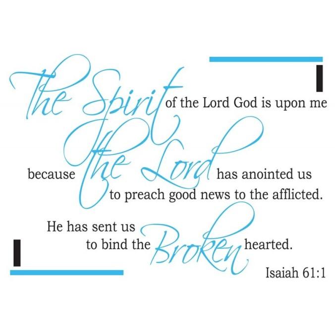 Isaiah 61.1 (3)