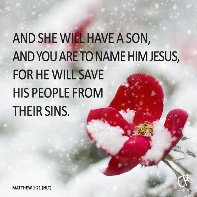 Matthew 1.21 NLT